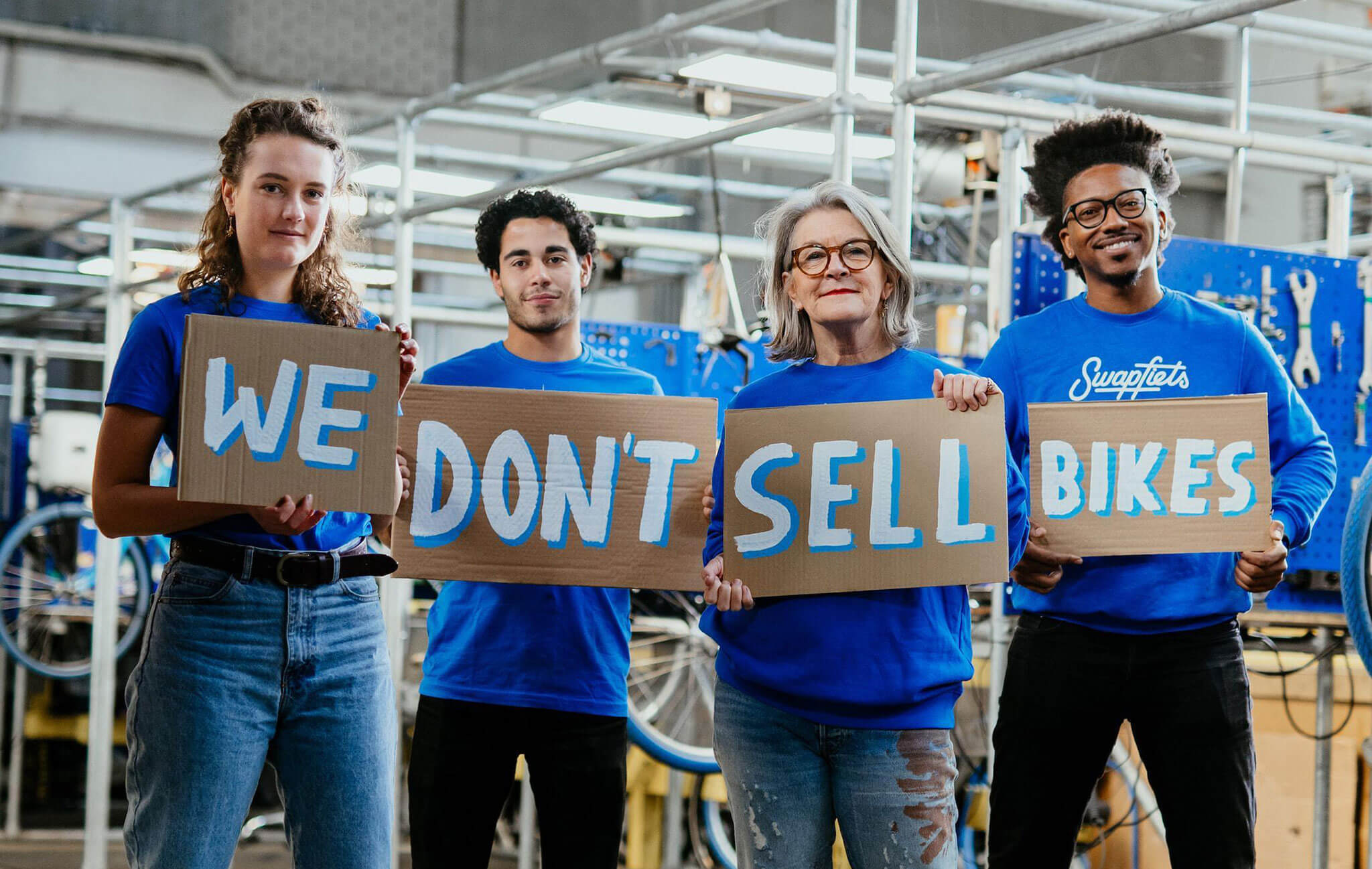 Swapfiets - We don't sell bikes